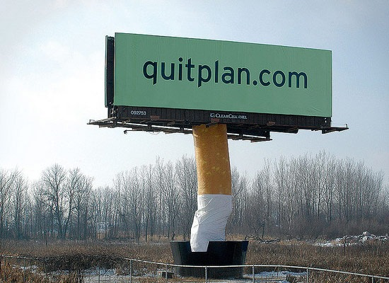 quitplan 30 Extremely Creative Billboard Designs