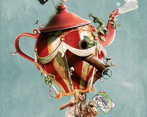 teapot 40 Funny But Creative Photo Manipulation Designs