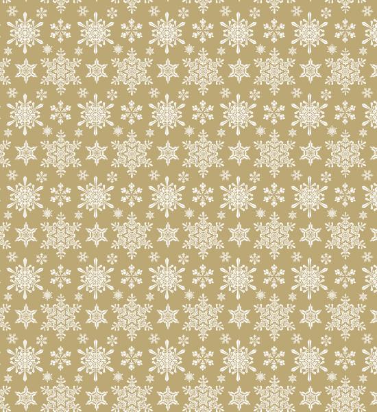 brownseamlesspattern Vintage Winter Snowflakes Seamless Free Pattern