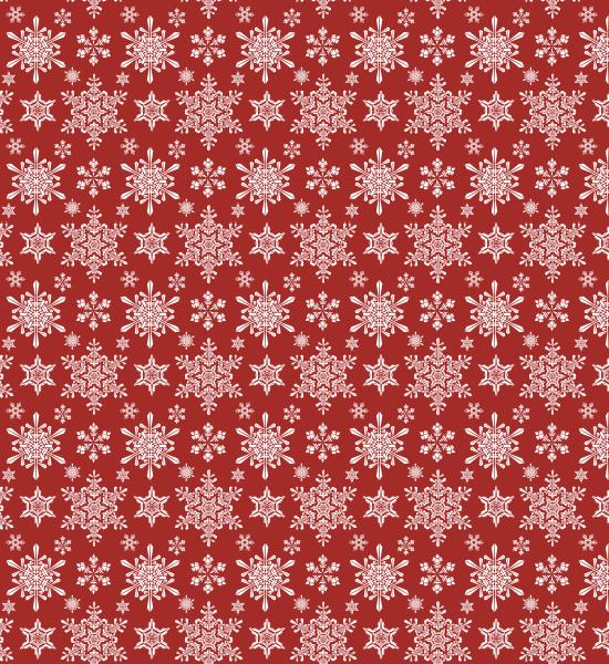 redseamlesspattern Vintage Winter Snowflakes Seamless Free Pattern