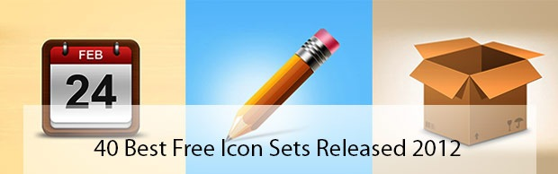 40besticonsfrom2012 40 Best Free Icon Sets Released 2012
