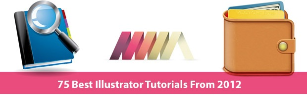 75bestillustratorytutorials 75 Best Illustrator Tutorials From 2012