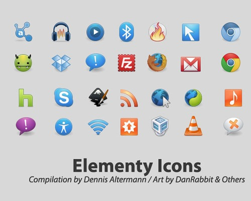 elementryicons 40 Best Free Icon Sets Released 2012