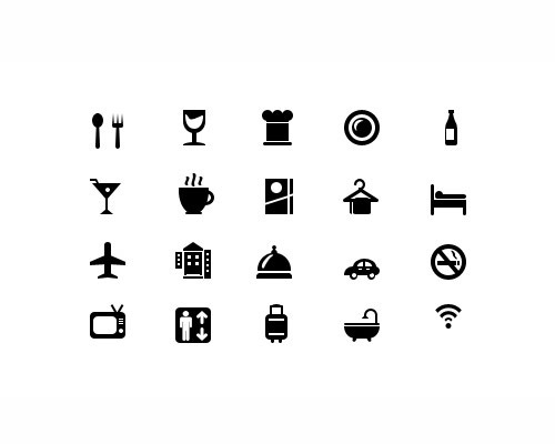 gylphhotelicons 40 Best Free Icon Sets Released 2012