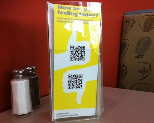qrleaflet 25 Smart And Creative Ways To Implement QR Codes