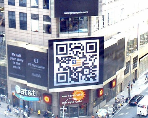 shopcornerqr 25 Smart And Creative Ways To Implement QR Codes