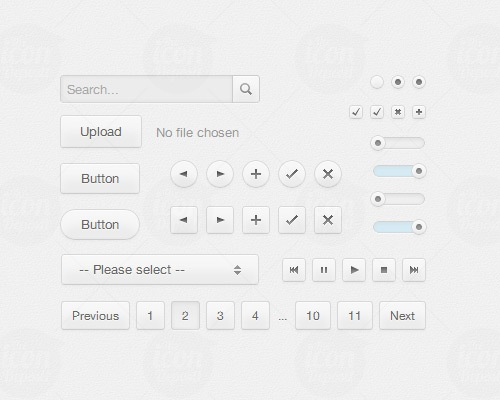 css3uikit 25 CSS3 Free Buttons For Designers