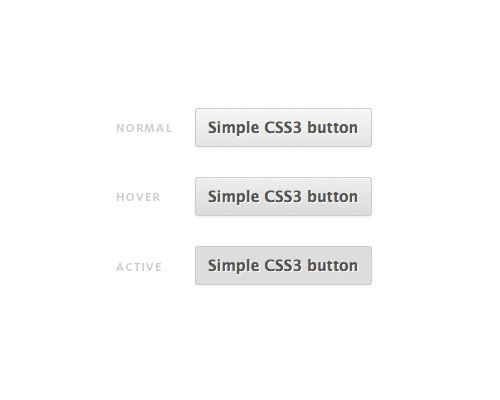 simplecss3buttons 25 CSS3 Free Buttons For Designers