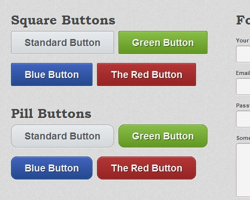soliduikit 25 CSS3 Free Buttons For Designers