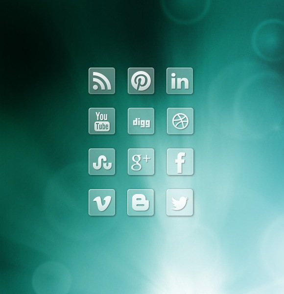 cleartransparenticons Clear Transparent Social Media Icons