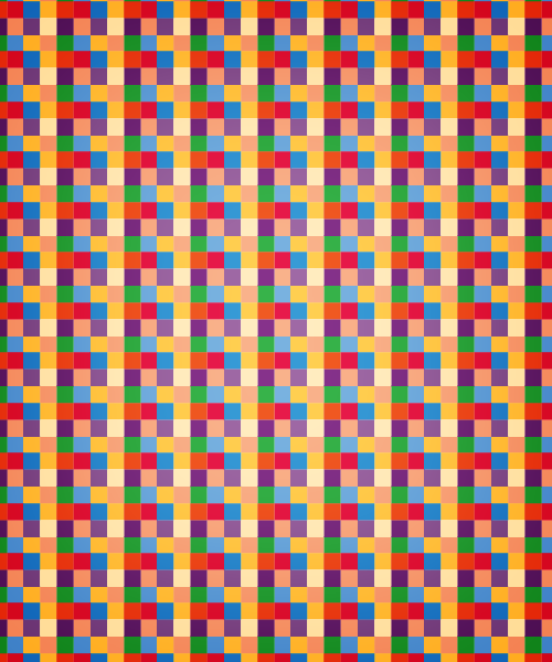 redsquaredpattern Colorful Squared Seamless Vector Pattern