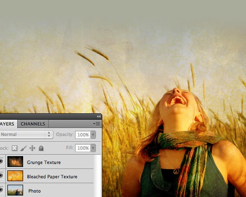 texturedphoto 30 Quality Tutorials For Working With Textures In Photoshop