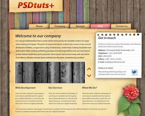 texturedsite 30 Quality Tutorials For Working With Textures In Photoshop