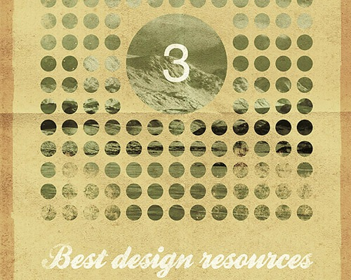 vintagepostes 30 Quality Tutorials For Working With Textures In Photoshop