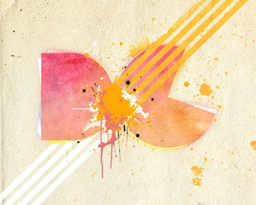 watercolorlogo 30 Quality Tutorials For Working With Textures In Photoshop
