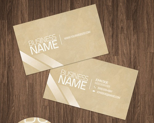 cleanbusinesscard 25 Free Business Card Design Templates