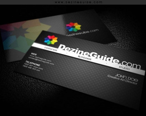 freemodernbuisnesscard 25 Free Business Card Design Templates