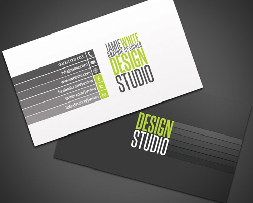 professtionbusinesscard 25 Free Business Card Design Templates