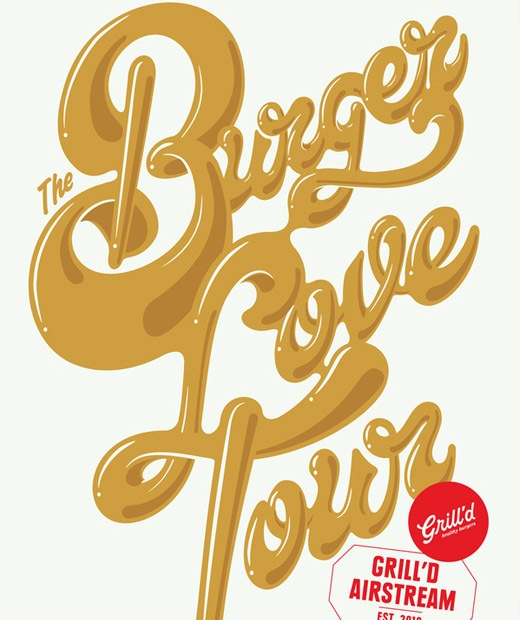 burgerslove 50 Beautiful Poster Which Included Remarkable Typography