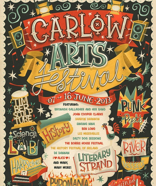 carlowarts 50 Beautiful Poster Which Included Remarkable Typography