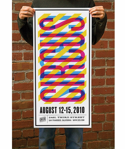 circusposter1 50 Beautiful Poster Which Included Remarkable Typography