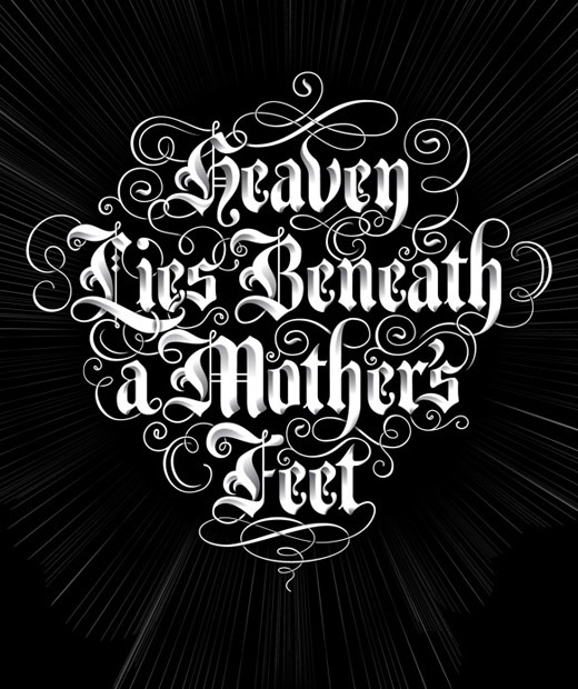 heavenlies 50 Beautiful Poster Which Included Remarkable Typography