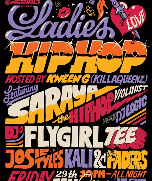 hiphop 50 Beautiful Poster Which Included Remarkable Typography