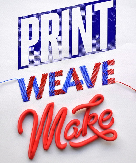 printweavemake 50 Beautiful Poster Which Included Remarkable Typography