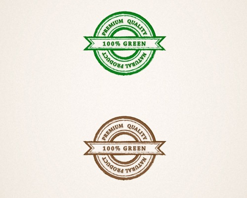 grungy web badges thumb Best Of Web And Design In August 2013