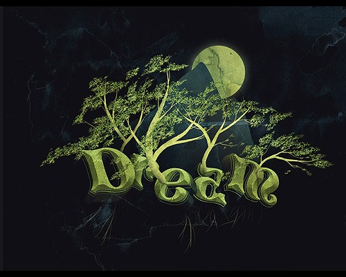 dream thumb 30 Best Ever Photoshop Tutorials For Creating 3D Text Effects