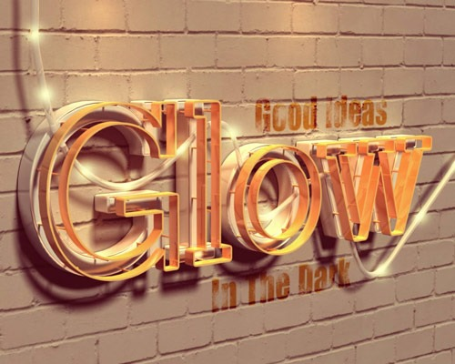 30 Best Ever Photoshop Tutorials For Creating 3d Text Effects