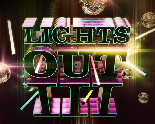 lights out thumb 30 Best Ever Photoshop Tutorials For Creating 3D Text Effects