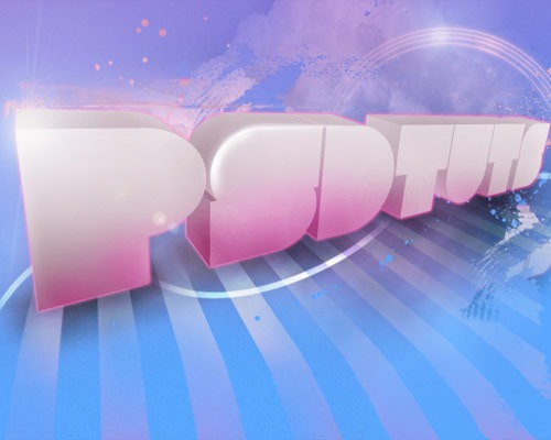 soft 3d text thumb 30 Best Ever Photoshop Tutorials For Creating 3D Text Effects