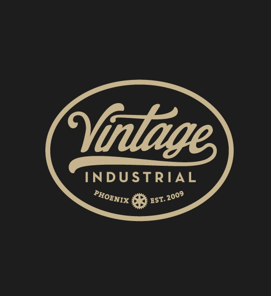 vintage industries thumb 20 most beautiful Retro and vintage logo ...