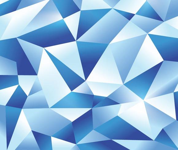 蓝色几何拇指100最佳插画从2013年的教程