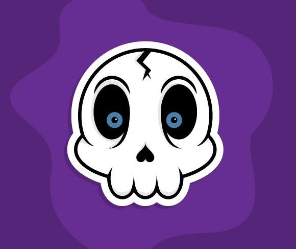 create skull thumb 100 best Illustrator tutorials from 2013