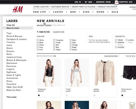 ecommerce thumb Best Of Web And Design In November 2013