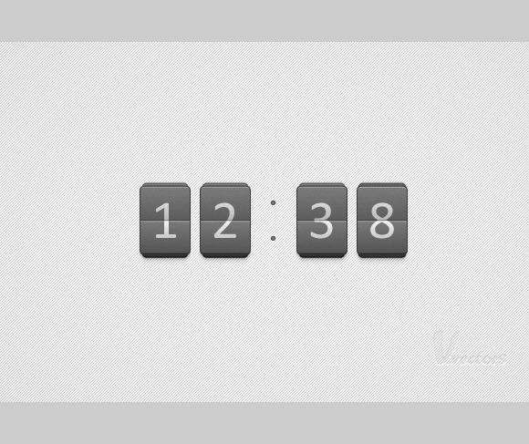 flip clock thumb 100 best Illustrator tutorials from 2013