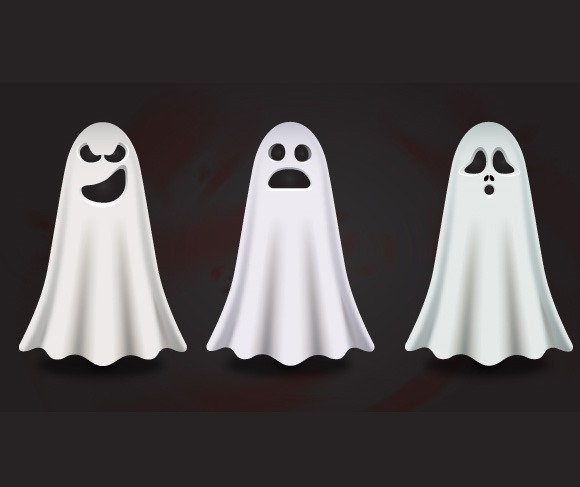 ghosts thumb 100 best Illustrator tutorials from 2013