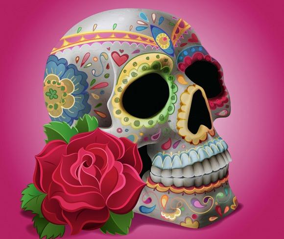 pretty skull thumb 100 best Illustrator tutorials from 2013