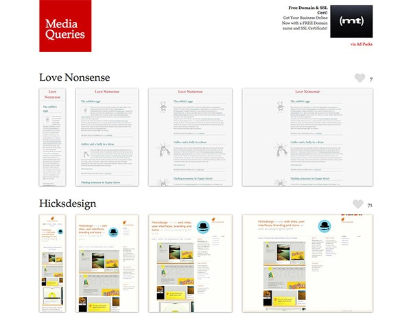 responsive webdesign thumb Best Of Web And Design In November 2013