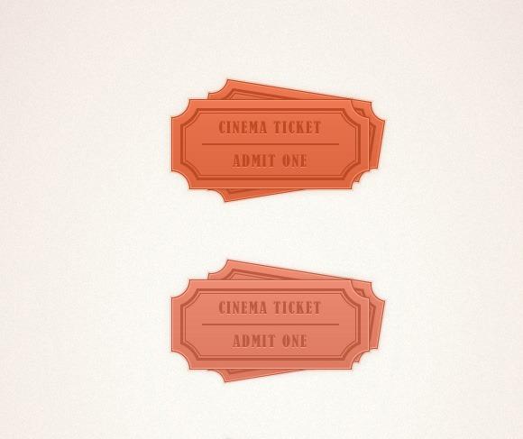 simple ticket thumb 100 best Illustrator tutorials from 2013