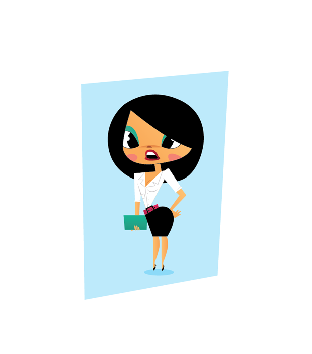 femal chasracter featured image thumb Create a beautiful female character illustration using illustrator