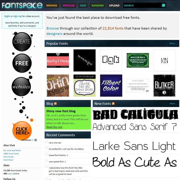 fontspace thumb 20 websites to find the best free fonts
