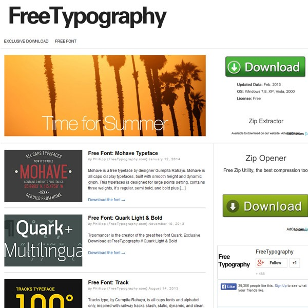 free typography thumb 20 websites to find the best free fonts