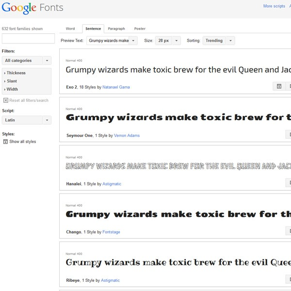 google webfonts 20 websites to find the best free fonts