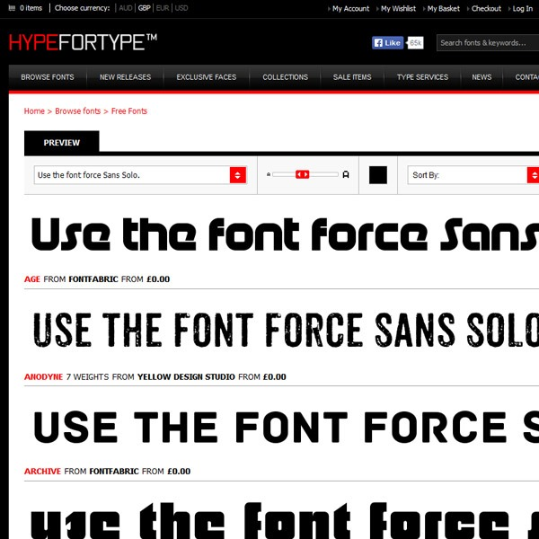 hypefortype thumb 20 websites to find the best free fonts