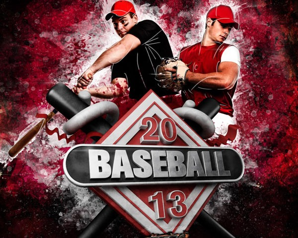 baseball thumb 60 Best Photoshop tutorials from 2014