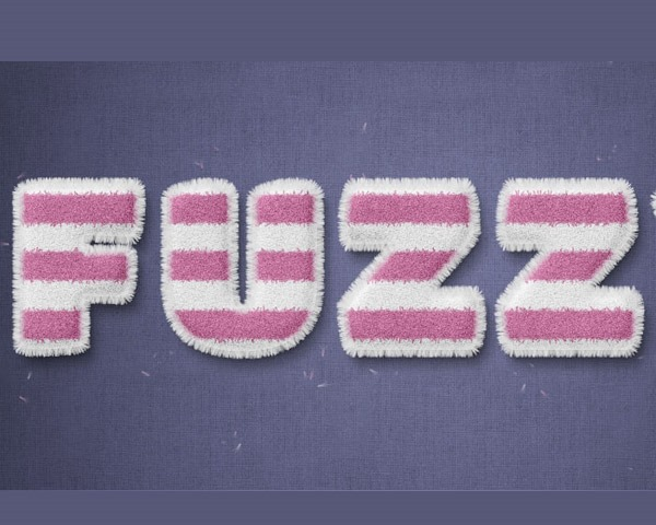 fuzz text effect thumb 60 Best Photoshop tutorials from 2014