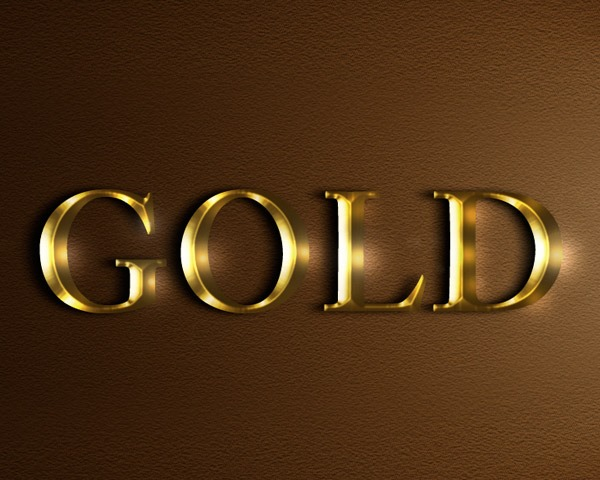 gold text effect thumb 60 Best Photoshop tutorials from 2014